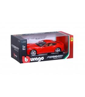 Auto Ferrari Race&Play Burago Mod. F12 Berlinetta Scala 1/24