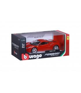 Auto Ferrari Race&Play Burago Mod. 488 GTB  Scala 1/24