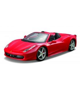 Auto Ferrari Race&Play Burago Mod. 458 Spider Scala 1/24