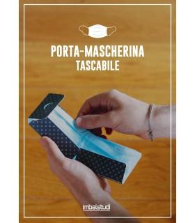 Custodia Porta Mascherine per Chirurgica e Tessile in Polipropilene 100% Riciclabile