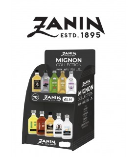 Espositore Migno Distillati Zanin 5cl cartone da 30 pz. Assortiti