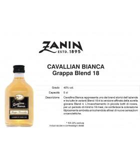 Distillati Mignon Zanin Grappa Cavallina 40° da 5cl