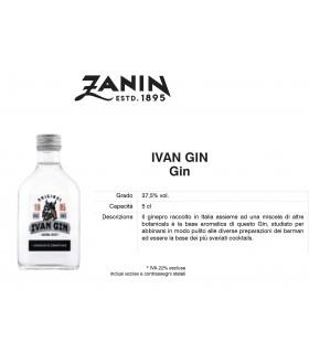 Distillati Mignon Zanin Ivan Gin 37.5° da 5cl