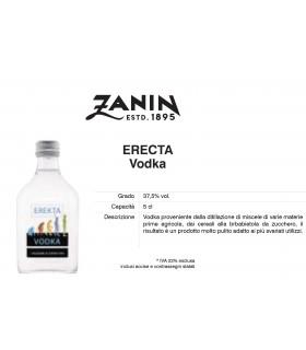 Distillati Mignon Zanin Vodka Erekta 37.5° da 5cl Cartone da 20 pz.