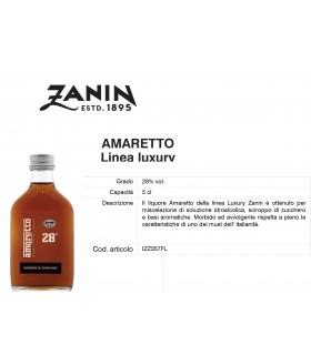 Distillati Mignon Zanin Amaretto 28° da 5cl