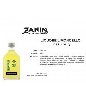 Distillati Mignon Zanin Limoncello 30° da 5cl Cartone da 24 pz.