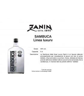 Distillati Mignon Zanin Sambuca 40° da 5cl