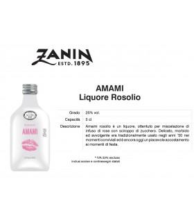 Distillati Mignon Zanin Amami 25° da 5cl Cartone da 12 pz.