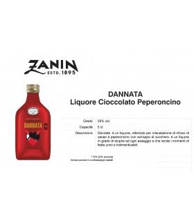 Distillati Mignon Zanin Dannata 25° da 5cl Cartone da 12 pz.