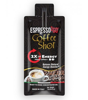 COFFEE SHOT ESPRESSO 2GO MACCHIATO SENZA GLUTINE 12g CONF. 24  PZ.