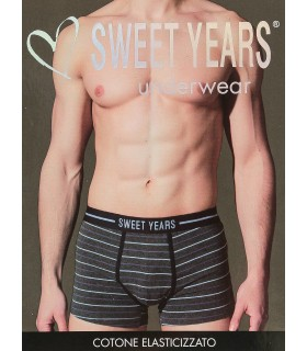 Boxer Sweet Years in Cotone Elasticizzato TG 3/S conf. 6 pz. colori assortiti