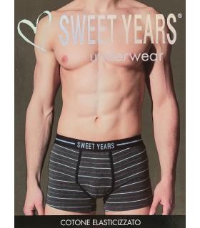 Boxer Sweet Years in Cotone Elasticizzato TG 5/L conf. 6 pz. colori assortiti