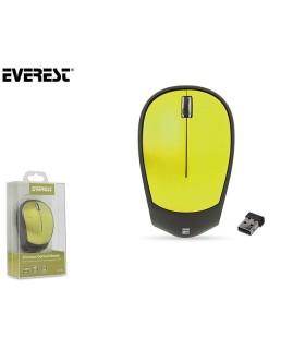 Mouse Ottico Wireless Everest colore Verde Confezionato in scatola