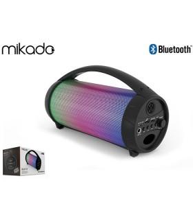 Speaker Bluetooth Mikado Portatile con Luci a Led 8W