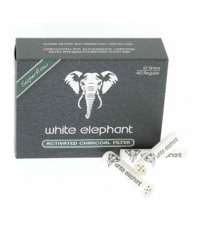 Filtro per Pipa Elephant al Carbone Attivo 9mm conf. 10 scatoline da 40 filtri