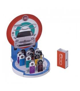 Portachiavi in Metallo Fiat Cinquecento Expo da 12 pz. colori assortiti