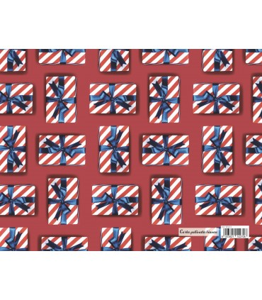 Carta Regalo Marpimar Natalizia Serie Fotografica conf. 100 fogli Fantasie assortite