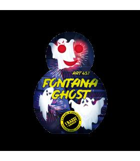 Fontana Effetto Flash Lampeggiante occhi e bocca H.24.5 cm