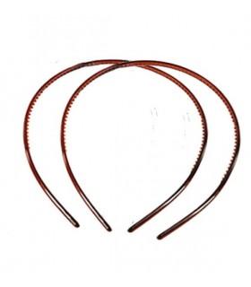 Cerchietto per Capelli Le Kikke colore Marrone 0.5cm conf. 36 pz.