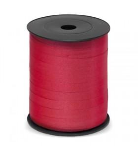 Nastro 250 metri Opaco  h. 1 cm.  colore rosso