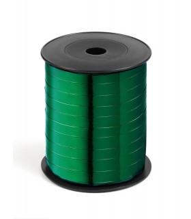 Nastro 250 metri  lucido  h. 1 cm.  colore verde