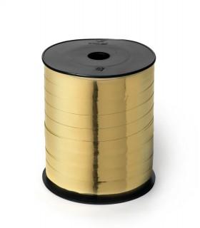 Nastro 250 metri  lucido  h. 1 cm.  colore oro