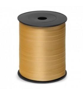 Nastro 250 metri opaco h. 1 cm.  colore oro