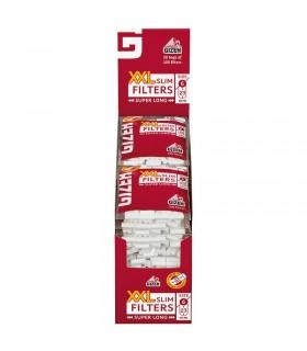 Filtro Gizeh  XXL Extra Long  Slim 6mm x 23mm Conf. 20 bustine da 100 filtri