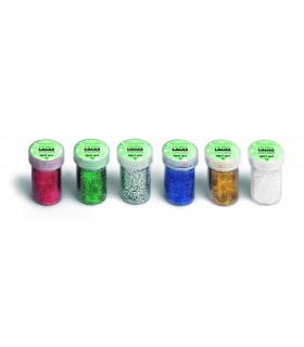 Porporina Lebez barattolo da 15g conf. 12 pz. colori assortiti