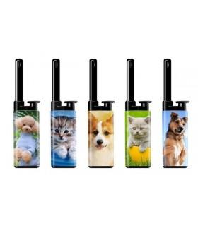 Accendigas Atomic Mini BBQ Fantasia Dogs&Cats conf. 25 pz. assortiti