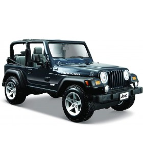 Auto Maisto Die Cast Jeep Wrangler Rubicon scala 1/24 colore blu