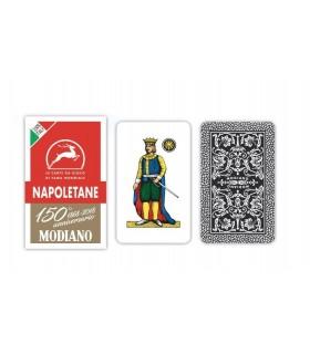 Carte Napoletane Modiano Rosso 150° Anniversario