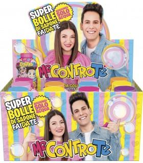 Super Bolle di Sapone Me Contro Te Fai da Te 250ml conf. 12 pz.