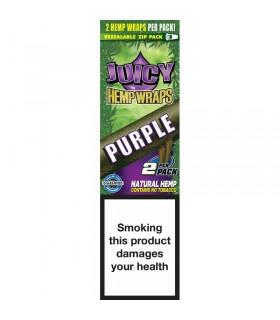 Cartina di Canapa Naturale Juicy  Purple Gusto Uva  conf. 25 libreti da 2 cartine