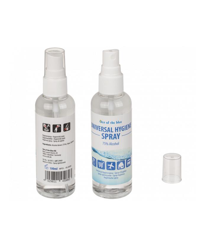 Spray Igienizzante Igenix 70% Alcol Per Mani e Superfici con Aloe Vera  da 110ml expo da 24 pz.