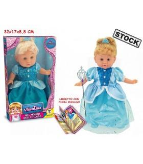 Bambola Valentina nel Mondo delle Fiabe H. 30 cm