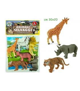 Animali della Savana 6 pz.