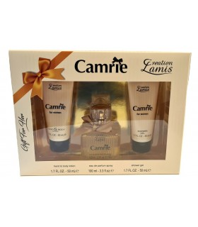 Creation Lamis Camrie Cofanetto con per Lei Eau de Parfum Spray 100ml Crema Mani e Corpo da 50ml e After Gel da 50ml