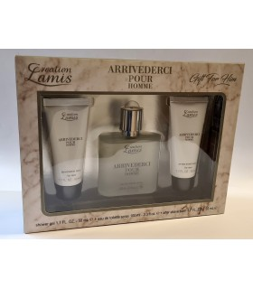 Creation Lamis Arrivederci Cofanetto per Lui Eau de Toilette Spray 100ml con Shower Gel da 50ml After Shave Balsamo da 50ml