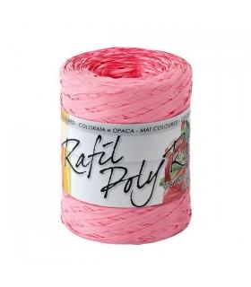 Rafia 100 metri h. 1/2 cm.  colore Rosa
