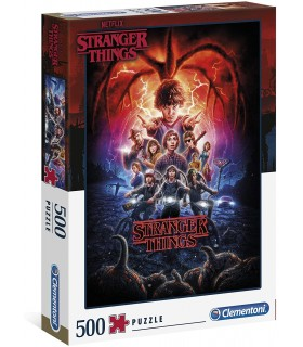 Puzzle Clementoni Collection 500 pz. Stranger Things 2