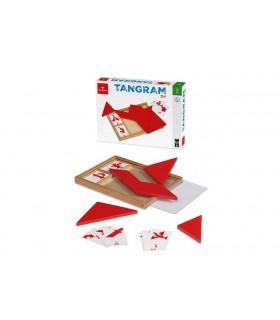 Tangram Rosso con Carte Dal Negro