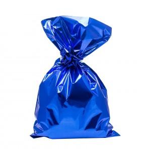 Buste Regalo Lucide in polipropilene mis.cm16x25 colore Blu Conf. 50  pz
