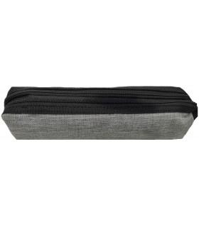 Saccucciolo Lebez Due Zip Mis. 21x4x6 cm Disponibile in diversi colori