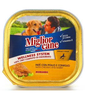 Miglior Cane Patè Coniglio e Pollo 300 gr