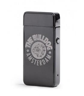 Accendino Elettronico The Bulldog Turbo al Plasma Titanium on Ricarica USB