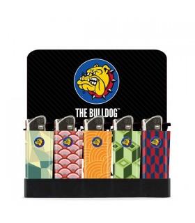 Accendino Elettronico Mini The Bulldog OPTICAL conf. 50 pz. assortiti