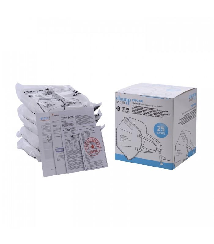 Mascherina Autofiltrante FFP2 colore Bianco
