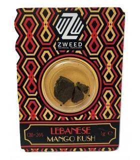 Pressato di Cannabis Sativa senza semi ZWEED MANGO KUSH blister da 1g