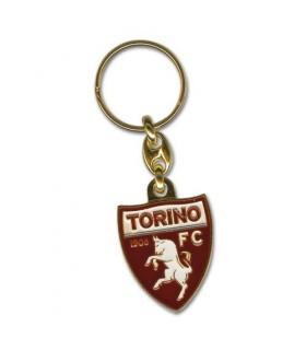 Portachiavi F.C. Torino in metallo dorato